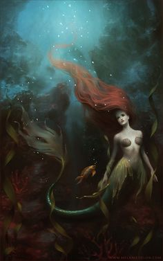 The little mermaid by Melanie Delon