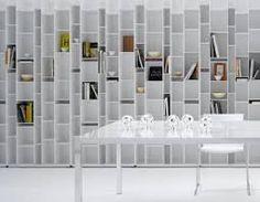 Elegant MDF Italia Random Bookcase . Außergewöhnlich Afbeeldingsresultaat  Voor Design Boekenkast