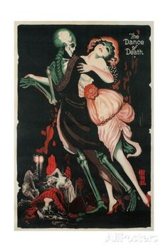 Dance of Death, Skeleton Giclee Print at AllPosters.com