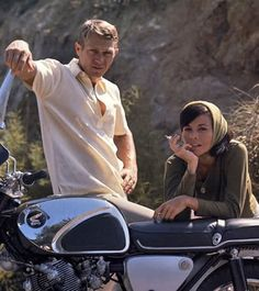 Steve McQueen and I owned the same motorcycle (although mine was 35 years old by that time)