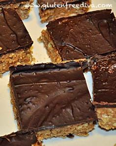Elana's Pantry Glute Free and Dairy Free almond power bars.