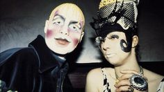 Leigh and Nicola Bowery Leigh Bowery, Stranger Things Steve, Cultural Significance, Club Kids, Monster Party, Post Punk, City Art, Attitude, Beast
