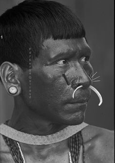 Matis Indians  State of Amazonas - Brazil.