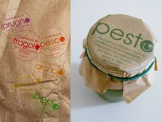 Packaging of the World: Creative Package Design Archive and Gallery: Paper Labels (Concept)