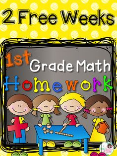 Free Math Homework! Two weeks is all you'll need to fall in love with this resource. Every day it reviews one of the 4 CCSS domains so all skills are always fresh in your students' minds! One page per week!