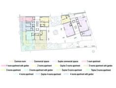 Image 20 of 27 from gallery of Dogarilor Apartment Building / ADN Birou de Arhitectura. Floor Plan