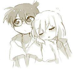 Anime Glasses Boy, Manga Detective Conan, 3d Collage, Kaito Kid, Detektif Conan, Magic Kaito, Manga Drawing, Sword Art Online, Drawing People