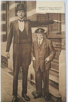 circus freaks tallest | Giant German Uranus Circus Tallest Man Freakshow | eBay