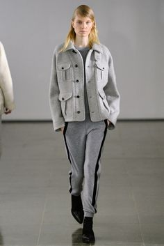 military knit jacket- keep metal buttons Joseph RTW Fall 2014 - Slideshow - Runway, Fashion Week, Fashion Shows, Reviews and Fashion Images - WWD.com