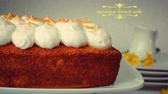 Meringue lemon cake