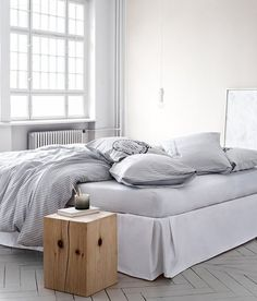The Best Basics:  Good, Cheap Duvet Covers decor, interior, side tables, beds, duvet covers, product detail, bedrooms, homes, bedroom designs