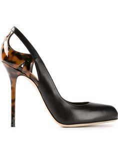 Sergio Rossi Cut Out Detail Pumps