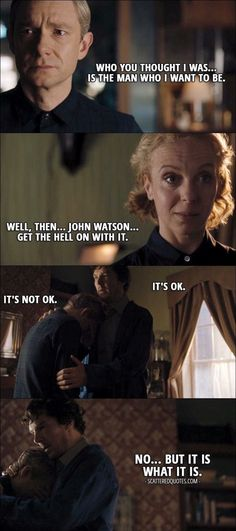 Yes, John, become the man Mary knew you could be; for Rosamund Mary--yr wife & yr daughter!!!