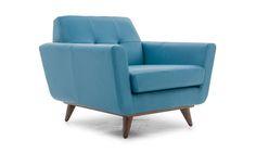 Hughes Leather Chair by Joybird