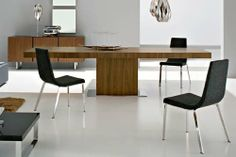 Astor Dining Table Walnut by LOFT. $1776.76. Shipping Method Freight. Length 71 in.. M3 0.64. Width 40 in.. Height 30 in.. The Astor Dining Table showcases a classic wooden table with a modern twist. Featuring a solid wood or lacquer base and table top, this dining table will compliment any dining room scheme beautifully! Available in White Lacquer, Walnut, or Wenge wood finishes.Shape RectangleMaterial WoodAssembly Assembly RequiredStyle ModernColor BrownsFinish Medium Wood