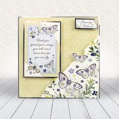 Wishes on Wings - Hunkydory Free Gift Cards, Free Gifts, Hunkydory Crafts, Hunky Dory, Make Your Own Card, Card Companies, Family Birthdays, Create And Craft, Butterfly Cards