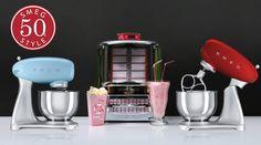 ¡Celebramos Black Friday y sorteamos un robot Smeg! Robot, Fondant Cupcakes, Kitchen Aid Mixer, Nespresso, Black Friday, Jr, Kitten, Ideas, Pageants