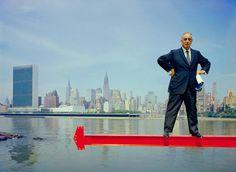 Robert Moses New York NY 1959 | Arnold Newman