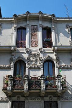 Art nouveau in Turin PAV