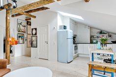 Attic apartment via Landgren                                                                                                                                                                                 More