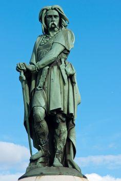 Vercingetorix chieftain of the Gauls
