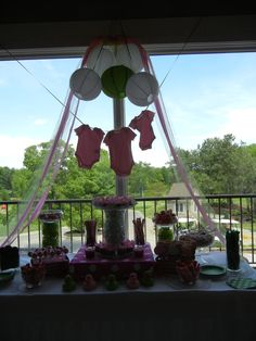 It's a girl!  GREAT DECORATIONs !!  LOVE NEW & GOOd IDEAS..