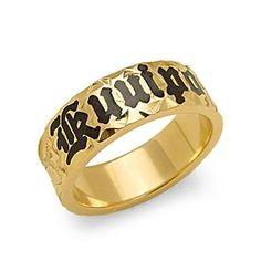 Hawaiian+Heirloom+6mm+Ring+in+14K+Yellow+Gold