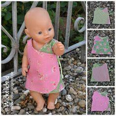 A ratitos perdidos: Patrones gratuitos para vestir a tus muñecas (Nenuco, Baby Born y muchos más)