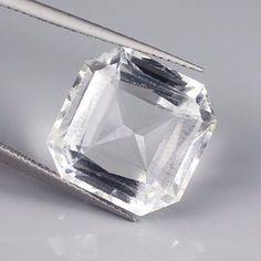 16.20 Cts Untreated Natural Colorless Crystal Quartz  Specification Length : 15.70 mm Width : 15.70 mm Depth : 9.00 mm Luster : Very Good Clarity : Flawless Origin : Africa Treatment : Untreated  #naturalquartz #gemstone #aqeeq #amman #kuwaitcity #luxembourg #male #valletta #mexicocity #monaco #rabat #amsterdam #wellington #oslo #muscat #portmoresby #warsaw #lisbon #doha #bucharest #capetown #seoul #stockholm #bern #taipei #ankara #kyiv #losangeles #crystalquartz