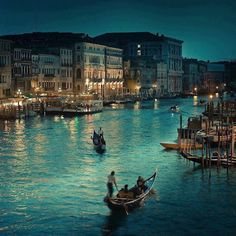#Pinterest Venice at night...!!