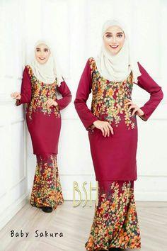 Baju Kurung Moden Kain Songket Fesyen Trend Terkini 2016  2017