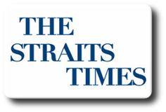 Logo do jornal The Straits Times