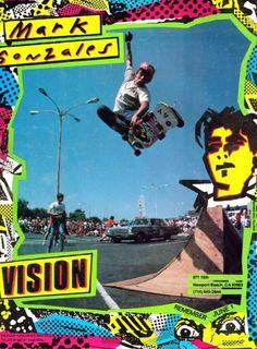 mark gonzales # gonz # vision # vision skateboards