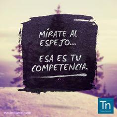 Las personas exitosas están motivadas por el deseo de alcanzar sus metas, no por el deseo de vencer a los demás.- ;)