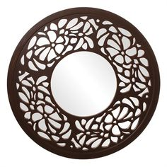 "Howard Elliott Silhouette Mirror 36"" Diameter"
