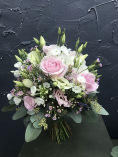 Wedding Bouquet - Olivia S. Summer Wedding Bouquets, Bride Bouquets, Bridesmaid Bouquet, Floral Bouquets, Floral Wedding, Floral Wreath, Bouquet Wedding, Bridal Flowers, Pink Flowers