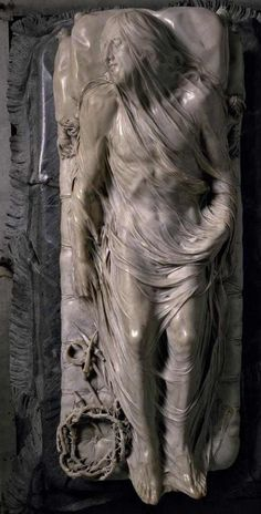 Veiled christ. Sanmartino