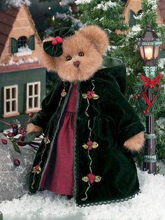 A Teddy Bear Christmas Vintage Teddy Bears, Cute Teddy Bears, Teddy Bear Cartoon, Christmas Teddy Bear, Paddington Bear, Bear Pictures, Boyds Bears, Creation Couture, Love Bear