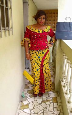 Latest Collection of Ankara Skirt and Blouse 2019 Latest African Fashion Dresses, African Dresses For Women, African Print Dresses, African Print Fashion, Africa Fashion, African Attire, African Wear, African Women, Ankara Skirt And Blouse