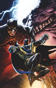 KNIGHTFALL Versions of BATMAN & AZRAEL Team Up for CONVERGENCE: SHADOW OF THE BAT   Newsarama.com