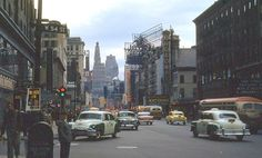 Broadway & 54th St. NYC 1956
