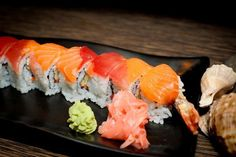 Fresh & Beautiful Red Dragon Roll