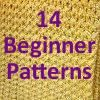 """How Do I Crochet?"" 14 Free Beginner Crochet Afghan Patterns to Get You Started 