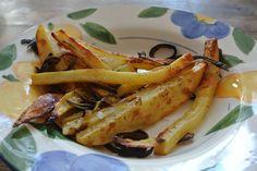 pečené zemiakové hranolky