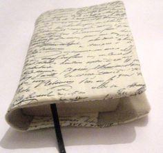 ♥Buchhülle Buchumschlag Schrift m. Lesezeichen♥für dicke & dünne Bücher!     Für Taschenbücher dick und dünn!   Dein Buch für unterwegs- niemand weiß