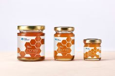 Low Carbon Honey on Packaging of the World - Creative Package Design Gallery