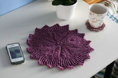 knitted placemat