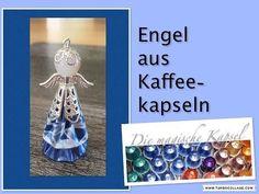 DIY Engel aus Kaffeekapseln - Anleitung - die magische (Kaffee-) Kapsel - YouTube