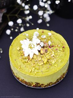 Pistachio & Orange B Pistachio & Orange Blossom Raw Avocado Cake (Free from: dairy, gluten & grains, refined sugar, oils, and with a nut-free option) https://www.pinterest.com/pin/200480620890987703/ Also check out: http://kombuchaguru.com