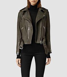 AllSAINTS: Women's Leather Jackets - Iconic Pieces